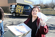 """Lucielle Selg at Shred Your Ex and Shred Chris Brown CDs and Posters for Pre-Valentines Day Bash held at WBLI Studios in West Babylon, Long Island on February 13, 2009..""""Shred Your Ex"""" party the day before Valentines Day. Radio Station WBLI has invited members of Rihanna's Fan Club and other fans across the nation to join the pop star's side along with .others who are """"unlucky in love.""""."""