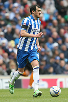 Football - 2012 / 2013 Championship - Brighton and Hove Albion vs. Wolverhampton Wanderers<br /> Brighton's Gordon Greer in action at The American Express Community Stadium