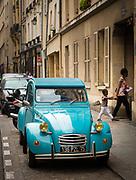 Citroen car in Paris, France