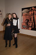 JANE BURGESS, SCARLETT CAUDWELL-BURGESS, The George Michael Collection drinks.  Christie's, King St. London, 12 March 2019
