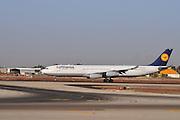 Israel, Ben-Gurion international Airport Lufthansa Airbus A340-313X