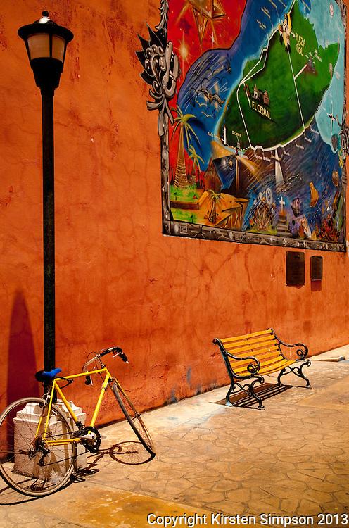 Cycling on Isla Cozumel