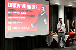The City Foundation Draw winners are announced - Mandatory by-line: Robbie Stephenson/JMP - 19/09/2016 - FOOTBALL - Ashton Gate - Bristol, England - Bristol City Community Trust Quiz