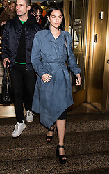 Celebrities arrive to the Christian Siriano fashion show during New York Fashion Week at Grand Lodge in New York. 10 Feb 2018 Pictured: Leigh Lezark. Photo credit: MEGA TheMegaAgency.com +1 888 505 6342
