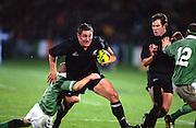 Mark Hammett. All Blacks v Ireland. International test match rugby union, Carisbrook stadium, Dunedin, New Zealand. 15 June 2002. © Copyright Photo: www.photosport.nz