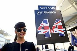 November 26, 2017 - Abu Dhabi, United Arab Emirates - Motorsports: FIA Formula One World Championship 2017, Grand Prix of Abu Dhabi, .grid girl  (Credit Image: © Hoch Zwei via ZUMA Wire)