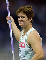 Martina Ratej of Slovenia competes in the women's Javelin Throw Final during day four of the 12th IAAF World Athletics Championships at the Olympic Stadium on August 18, 2009 in Berlin, Germany. (Photo by Vid Ponikvar / Sportida)