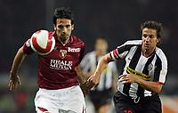 """Torino 29/9/2007 Stadio """"Olimpico""""<br /> Campionato Italiano Serie A<br /> Matchday 6 - Torino-Juventus (0-1)<br /> Paolo Hernan Della Fiore (Torino) Alessandro Del Piero (Juventus)<br /> Photo Luca Pagliaricci INSIDE"""