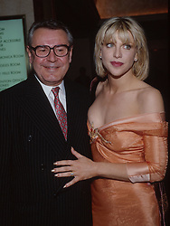 May 21, 1997; Hollywood, CA, USA; Director MILOS FORMAN & singer/actress COURTNEY LOVE @ the 1997 ACLU Torch of Liberty Awards..  (Credit Image: Terry Lilly/ZUMAPRESS.com)