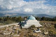 Israel, Jezreel Valley, Givaat Hamoreh (Moreh hill), Nabi Dahi, the shrine for Dahia Bin Khalifa al-Kalbei