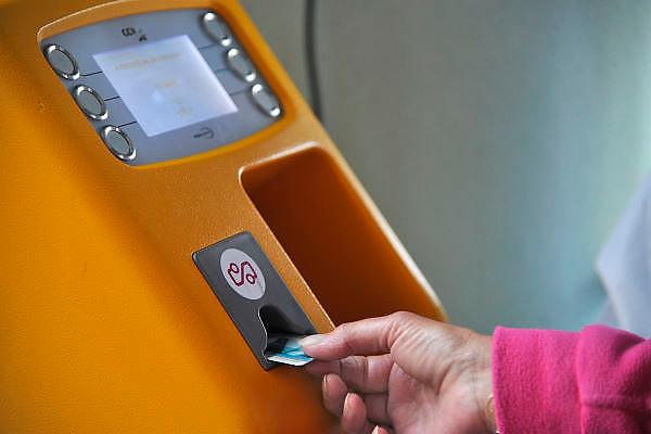 Nederland, Ochten, 14-7-2011Een oplaadautomaat voor de ov-chipkaart.Foto: Flip Franssen/Hollandse Hoogte
