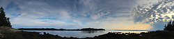 Looking Towards Brooksville from Nautilus Island, Castine, Maine, US