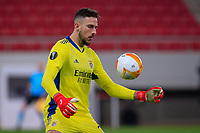 PIRAEUS, GREECE - FEBRUARY 25: Helton Leite of SL Benfica during the UEFA Europa League Round of 32 match between Arsenal FC and SL Benfica at Karaiskakis Stadium on February 25, 2021 in Piraeus, Greece. (Photo by MB Media)