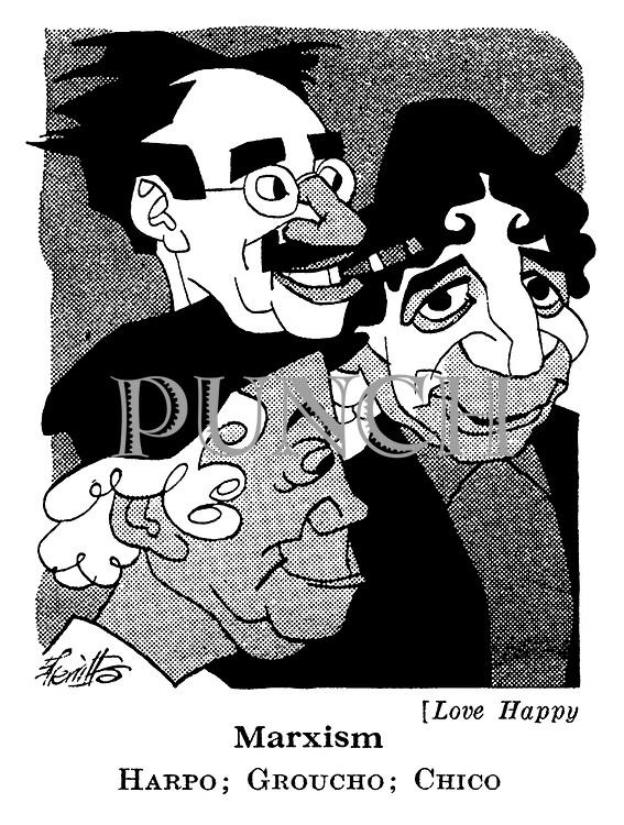 Love Happy : Harpo , Groucho and Chico