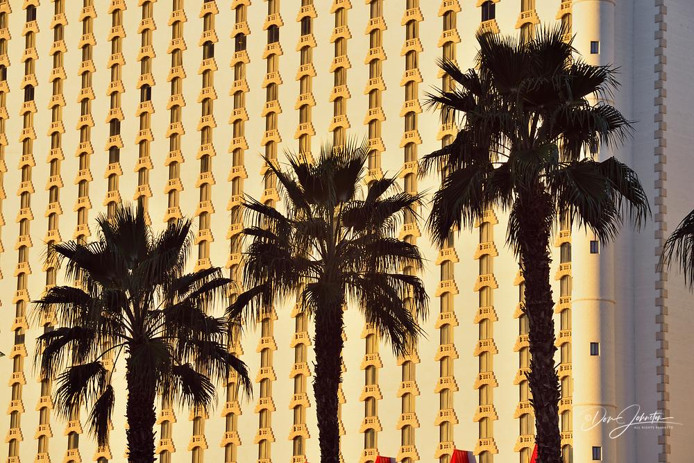 Las Vegas Boulevard with Excalibur resort hotel, Las Vegas, Nevada, USA