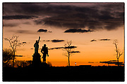 """""""Glow"""" Most of my images don't have titles. This one does. Slowing down and being in the moment let me capture the powerful scene of a soldier underneath the glow of the torch, the lamp, and the sky."""