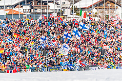28.02.2019, Seefeld, AUT, FIS Weltmeisterschaften Ski Nordisch, Seefeld 2019, Nordische Kombination, Langlauf, im Bild Fans // fans during the Cross Country Competition of Nordic Combined for the FIS Nordic Ski World Championships 2019. Seefeld, Austria on 2019/02/28. EXPA Pictures © 2019, PhotoCredit: EXPA/ Stefan Adelsberger