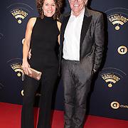NLD/Hilversum/20170119 - Start inloop 11de Radio Gala 2016, Evelien de Bruijn en partner Paul van der Lugt