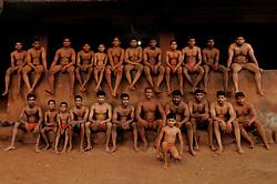 Kushti talim in Kolhapur in the state of Maharashtra in India..(Photo by Ami Vitale)