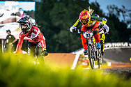 #93 (STEVAUX CARNAVAL Priscilla Andreia) BRA Chase Lead Shimano TLD at Round 7 of the 2019 UCI BMX Supercross World Cup in Rock Hill, USA