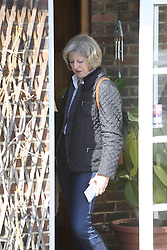 ©Licensed to London News Pictures 07/03/2015  London, UK. Home Secretary and MP for Maidenhead Theresa May visits Sandilands, Croydon meeting activists plus a rallying speech then heads off for some canvassing. Photo credit: Presspics/LNP