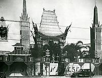 1927 Grauman's Chinese Theatre
