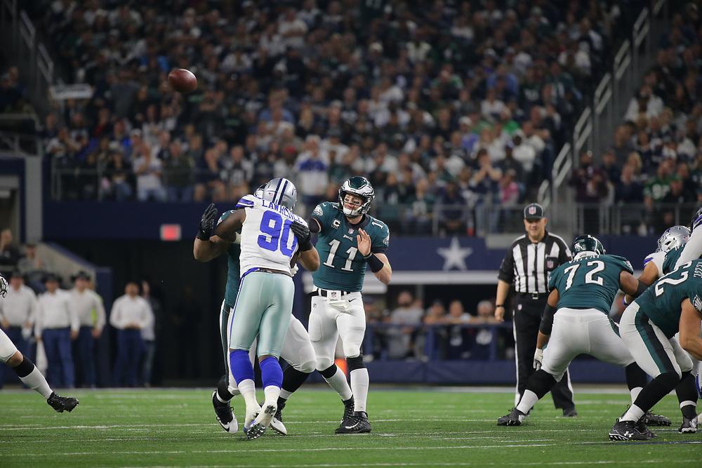 2017 Philadelphia Eagles at Dallas Cowboys at AT&T Stadium on November 19, 2017 in Arlington, Texas. The Eagles won 37-9. (Photo by Hunter Martin/Philadelphia Eagles)