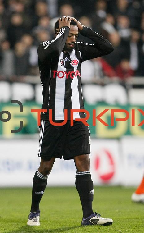 Besiktas's Manuel Fernandes during their Turkish superleague soccer match Besiktas between IBBSpor at BJK Inonu Stadium in Istanbul Turkey on Sunday, 11 December 2011. Photo by TURKPIX
