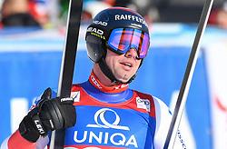 13.02.2020, Zwölferkogel, Saalbach Hinterglemm, AUT, FIS Weltcup Ski Alpin, Abfahrt, Herren, im Bild Beat Feuz (SUI) zweiter Platz // Beat Feuz of Switzerland second place reacts after his run for the men's Downhill of FIS Ski Alpine World Cup at the Zwölferkogel in Saalbach Hinterglemm, Austria on 2020/02/13. EXPA Pictures © 2020, PhotoCredit: EXPA/ Erich Spiess
