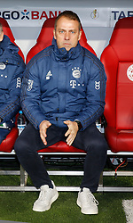 05.02.2020, Allianz Arena, Muenchen, GER, DFB Pokal, FC Bayern Muenchen vs TSG 1899 Hoffenheim, Achtelfinale, im Bild Bayern Trainer Hansi Flick // during the German Pokal the round of last sixteen match between FC Bayern Muenchen and TSG 1899 Hoffenheim at the Allianz Arena in Muenchen, Germany on 2020/02/05. EXPA Pictures © 2020, PhotoCredit: EXPA/ SM<br /> <br /> *****ATTENTION - OUT of GER*****
