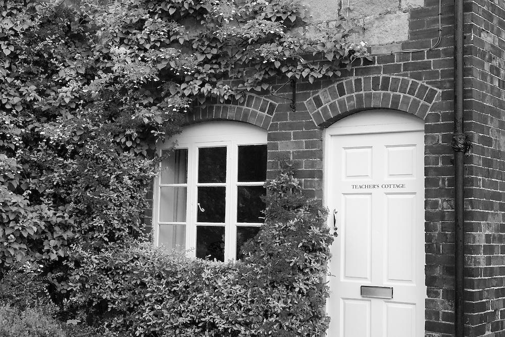 Teacher's Cottage - Avebury, UK - Infrared Black & White