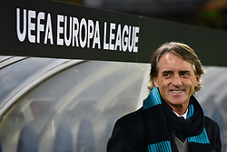December 7, 2017 - San Sebastian, Basque Country, Spain - Roberto Mancini, head coach of Zenit, gives instructions during the UEFA Europa League Group L football match between Real Sociedad and Zenit at the Anoeta Stadium, on 7 December 2017 in San Sebastian, Spain  (Credit Image: © Jose Ignacio Unanue/NurPhoto via ZUMA Press)