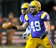 Avon vs Columbian Tiffin in an OHSAA Regional Final football game in Fremont on November 18, 2011.