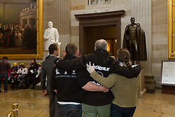 Gary Allen's Maine to DC run; day-after tour of the Capitol building with members of his crew