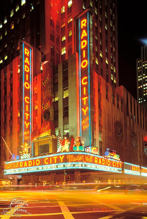 Radio City Music Hall, Manhattan, New York