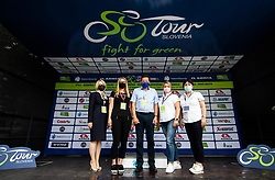 VIP guests during 2nd Stage of 27th Tour of Slovenia 2021 cycling race between Zalec and Celje (147 km), on June 10, 2021 in Slovenia. Photo by Vid Ponikvar / Sportida