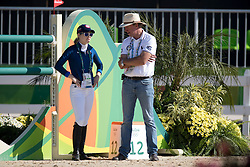 Beerbaum Marcus, GER, Davis Lucy, USA<br /> Olympic Games Rio 2016<br /> © Hippo Foto - Dirk Caremans<br /> 14/08/16