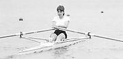 Nottingham. United Kingdom. <br /> Clare PARKER. [NCRA]<br /> Nottingham International Regatta, National Water Sport Centre, Holme Pierrepont. England<br /> <br /> 31.05.1986 to 01.06.1986<br /> <br /> [Mandatory Credit: Peter SPURRIER/Intersport images] 1986 Nottingham International Regatta, Nottingham. UK