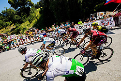 Michal Schuran (CZE) of AC Sparta Praha and peloton during 2nd Stage of 26th Tour of Slovenia 2019 cycling race between Maribor and  Celje (146,3 km), on June 20, 2019 in Celje, Maribor, Slovenia. Photo by Vid Ponikvar / Sportida