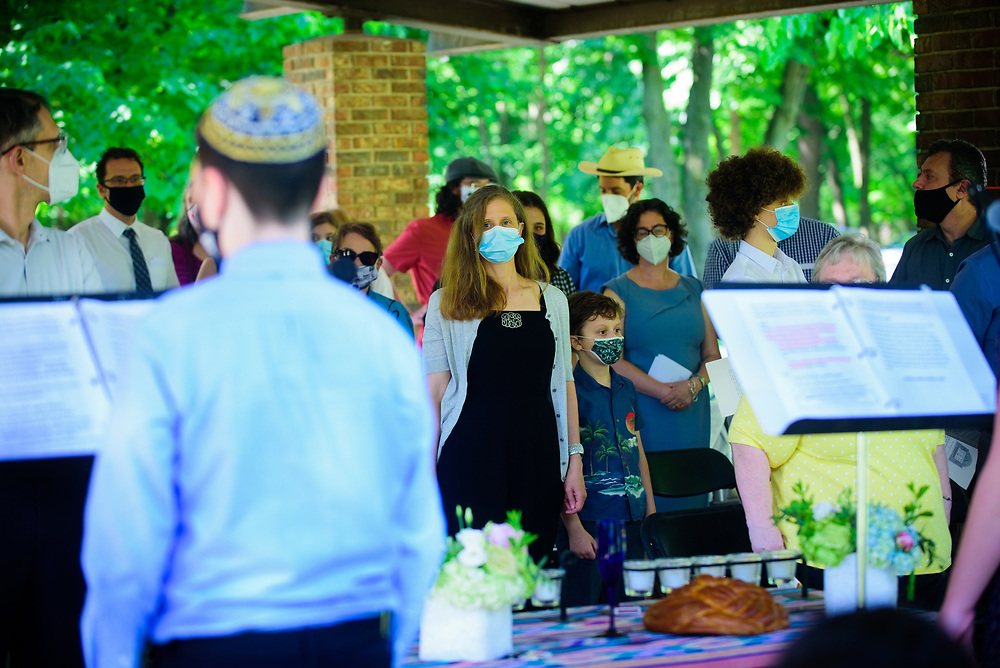 The Secular Jewish Community & School hosts a B'nai Mitzvah Ceremony at Evans Field Forest Preserve in River Grove on Sunday, June 6th. ©2021 Brian Morowczynski ViaPhotos