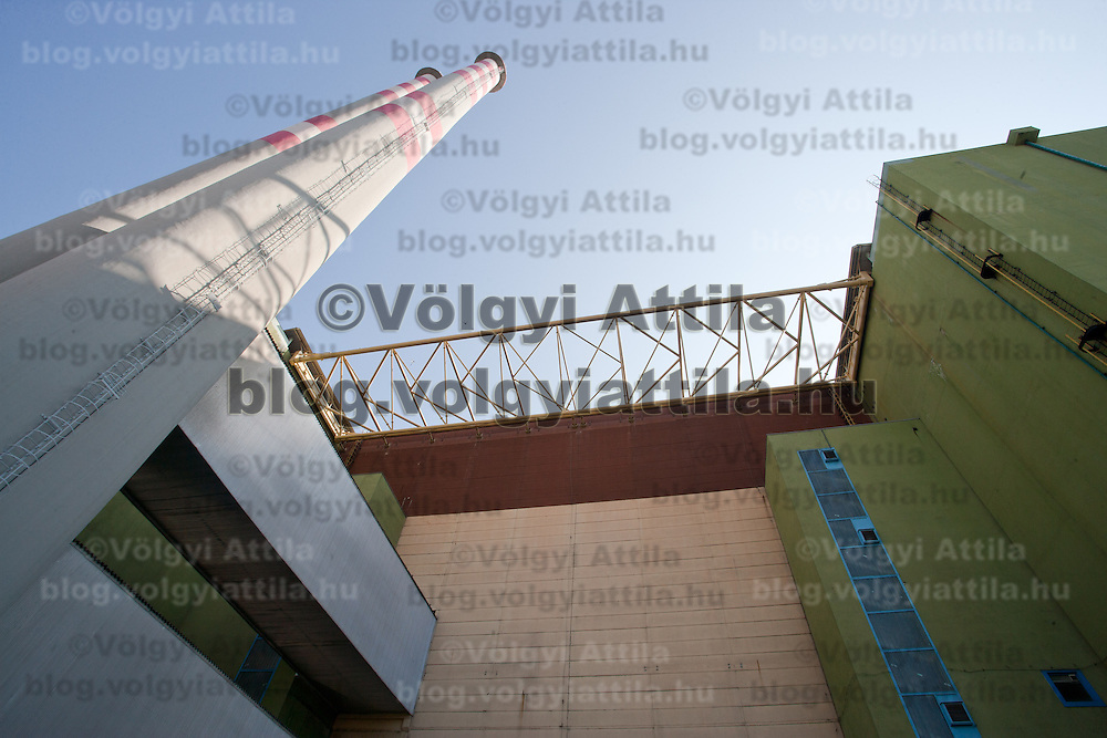A general view of the Paks nuclear power plant building in Paks, 120 km (75 miles) east of Budapest, Hungary on March 23, 2011. ATTILA VOLGYI