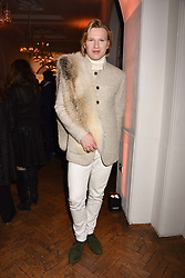 Henry Conway at Fashion Parade by Sadia Siddiqui dedicated to Asian couture held at One Marylebone, London England. 6 February 2017.