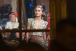 Lily Rose Depp at the Ritz hotel for Chanel fashion show in Paris, France on December 6, 2016. Photo by Nasser Berzane/ABACAPRESS.COM