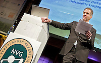 UTRECHT - NVG ( Ned. Ver. Golfaccomodaties) , 17e editie Nationaal Golf Congres & Beurs. Gerard Louter van TIG sports.  FOTO KOEN SUYK