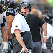 ORLANDO, FL - OCTOBER 24:  Head coach Josh Heupel of the Central Florida Knights is seen on the sideline against the Tulane Green Wave at Bounce House-FBC Mortgage Field on October 24, 2020 in Orlando, Florida. (Photo by Alex Menendez/Getty Images) *** Local Caption *** Josh Heupel