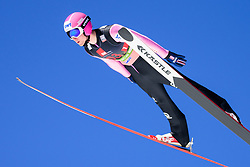March 23, 2019 - Planica, Slovenia - Filip Sakala of Czech Republic in action during the team competition at Planica FIS Ski Jumping World Cup finals  on March 23, 2019 in Planica, Slovenia. (Credit Image: © Rok Rakun/Pacific Press via ZUMA Wire)