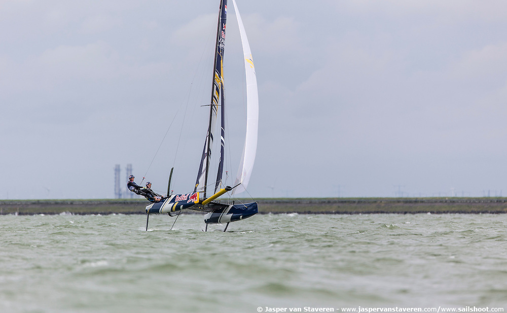Red Bull Foiling Generation, training in Lelystad - The Netherlands on July 13, 2016