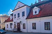 """Muzeum Regionalne """"Dom Grecki"""" w Myślenicach, Polska<br /> Regional Museum """"Greek House"""" in Myślenice, Poland"""