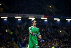 Burnley goalkeeper Joe Hart during the Premier League match at Turf Moor, Burnley