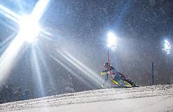 08.01.2019, Hermann Maier Weltcupstrecke, Flachau, AUT, FIS Weltcup Ski Alpin, Slalom, Damen, 1. Lauf, im Bild Emelie Wikstroem (SWE) // Emelie Wikstroem of Sweden in action during her 1st run of ladie's Slalom of FIS ski alpine world cup at the Hermann Maier Weltcupstrecke in Flachau, Austria on 2019/01/08. EXPA Pictures © 2019, PhotoCredit: EXPA/ Johann Groder